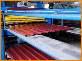 Metal Roofing Manufacturing Company